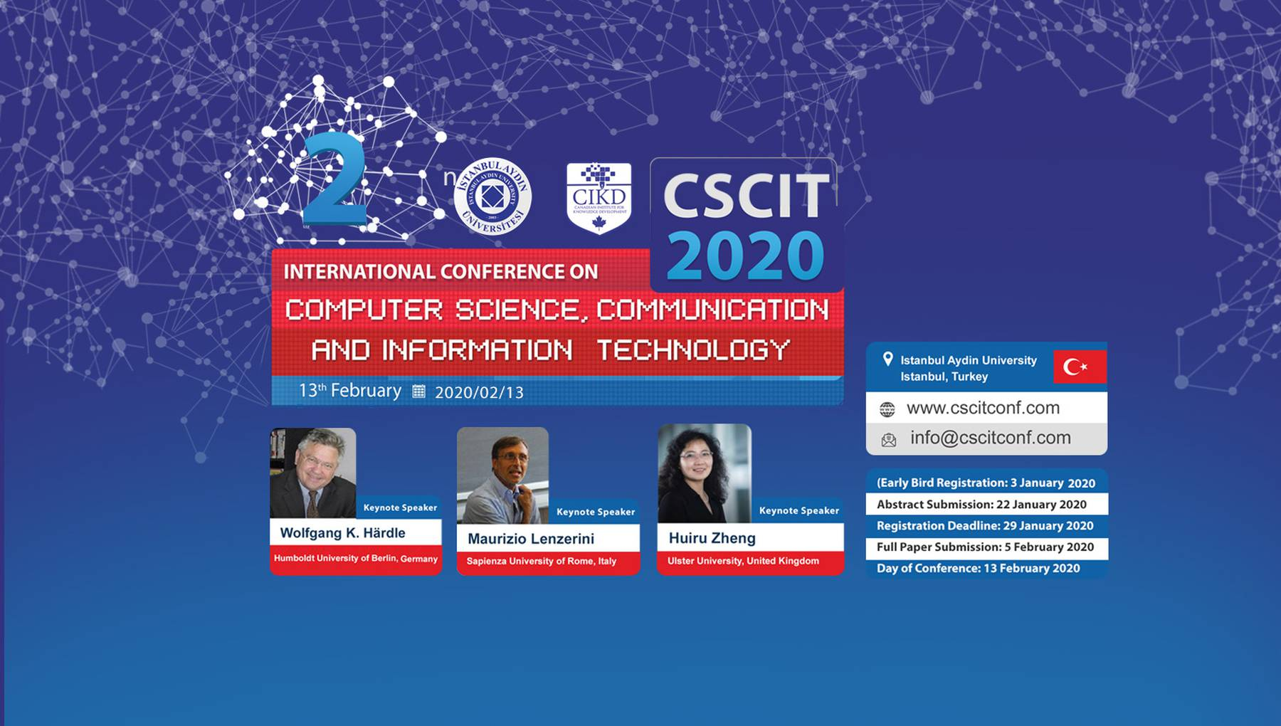 International Conference On Computer Science Communication And Information Technology Istambul 2020 Ai Ml Events
